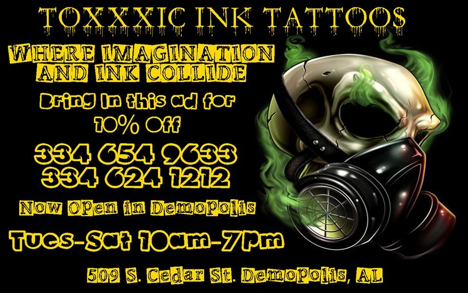 Toxxic Ink Tattoos