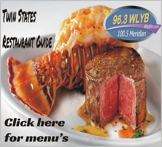 96.3 100.5 WLYB FM - Local Restaurants